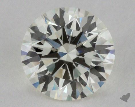 1.35 Carat K-VS1 Excellent Cut Round Diamond