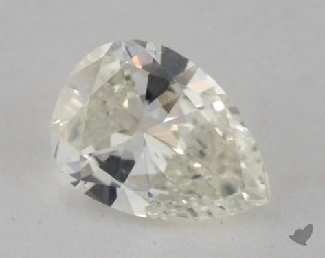0.97 Carat J-SI2 Pear Cut Diamond