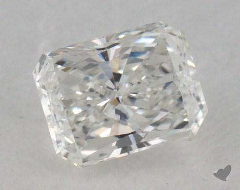 0.46 Carat F-VS2 Radiant Cut Diamond