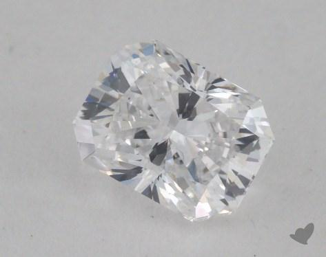 0.71 Carat D-SI1 Radiant Cut Diamond 