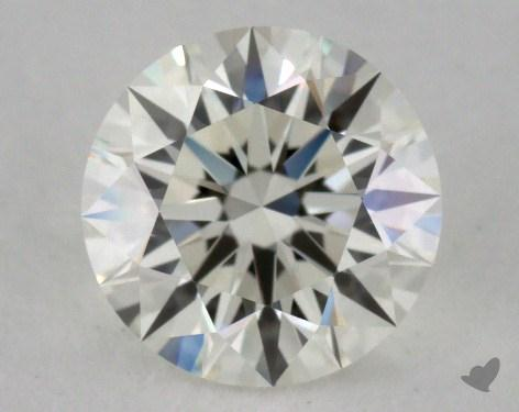 1.07 Carat I-VVS1 Excellent Cut Round Diamond