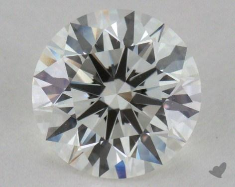 1.37 Carat H-VVS2 Excellent Cut Round Diamond