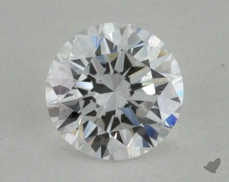 1.00 Carat D-VS2 Good Cut Round Diamond