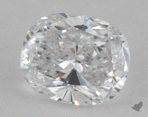 0.38 Carat D-SI2 Cushion Cut  Diamond