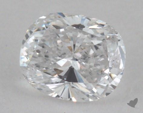 0.38 Carat D-SI2 Cushion Cut Diamond