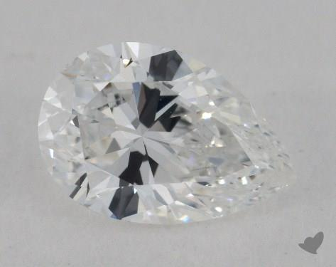 1.06 Carat D-VVS1 Pear Shape Diamond