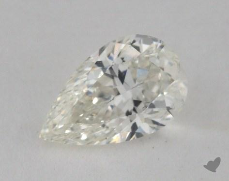 1.00 Carat H-SI1 Pear Shaped  Diamond