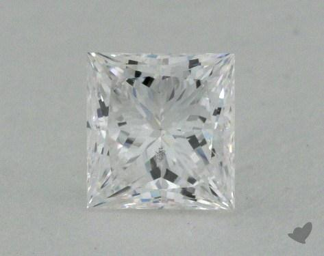 0.45 Carat D-SI1 Very Good Cut Princess Diamond