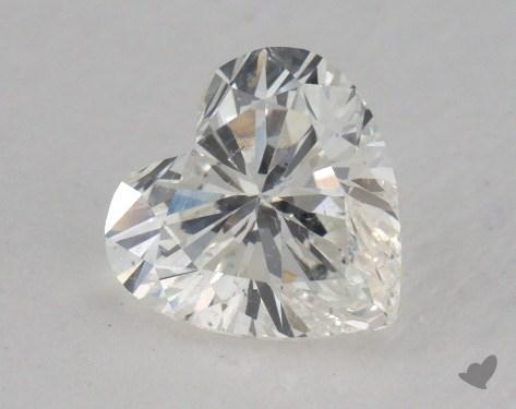 1.06 Carat G-SI2 Heart Shaped  Diamond