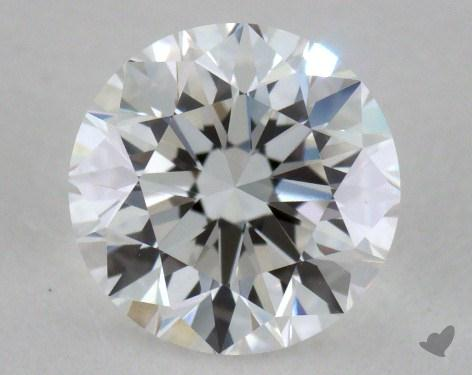 0.90 Carat E-VS1 Good Cut Round Diamond