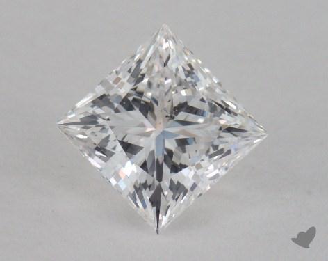 1.05 Carat E-SI2 Very Good Cut Princess Diamond