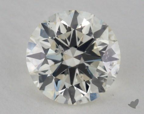 1.23 Carat J-SI2 Ideal Cut Round Diamond