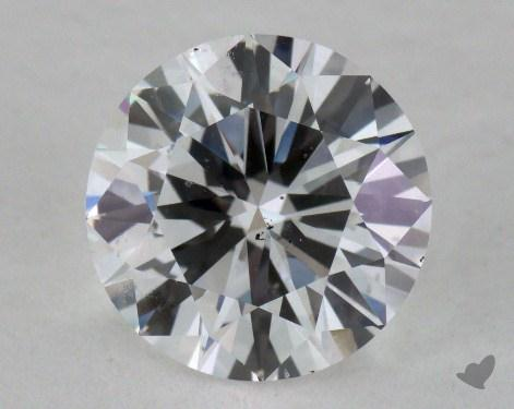 1.56 Carat D-SI2 Good Cut Round Diamond