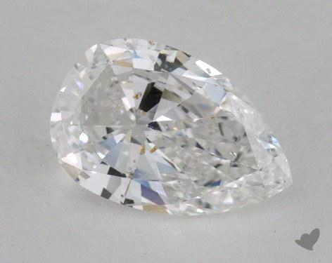 1.77 Carat E-I1 Pear Shape Diamond