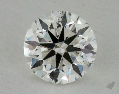 1.21 Carat G-SI2 Excellent Cut Round Diamond 