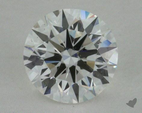 0.95 Carat G-SI1 Good Cut Round Diamond