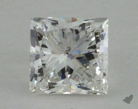1.00 Carat G-I1 Princess Cut Diamond