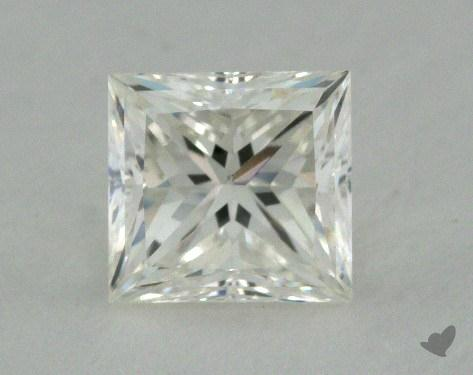 0.84 Carat H-VS1 Princess Cut Diamond