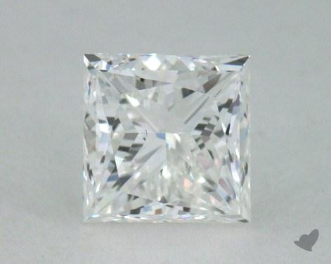 0.71 Carat F-VS2 Princess Cut Diamond