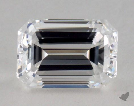 0.90 Carat D-VS1 Emerald Cut Diamond