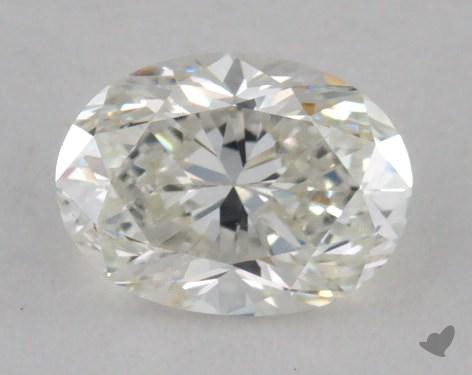 0.51 Carat H-VVS2 Oval Cut  Diamond