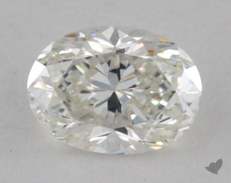 0.51 Carat H-VVS2 Oval Cut Diamond