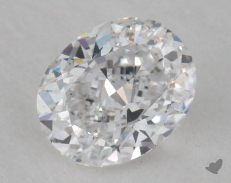 0.50 Carat D-VS2 Oval Cut  Diamond