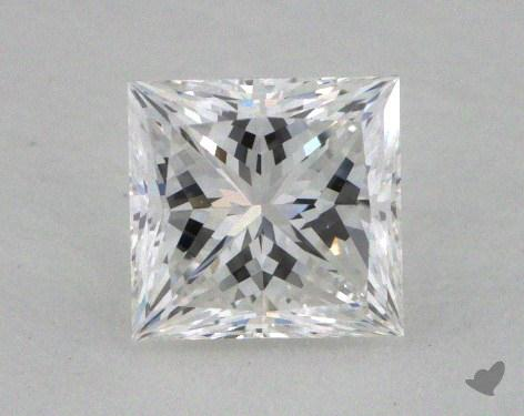 0.62 Carat D-VVS2 Ideal Cut Princess Diamond