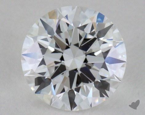 0.90 Carat D-VS1 Excellent Cut Round Diamond
