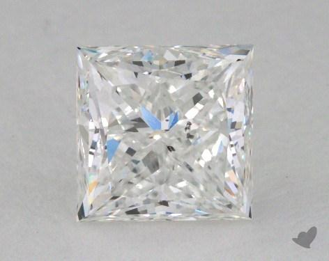 2.01 Carat F-SI2 Princess Cut  Diamond
