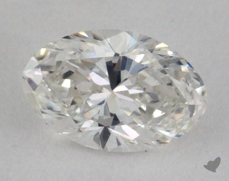 0.36 Carat F-VVS2 Oval Cut Diamond