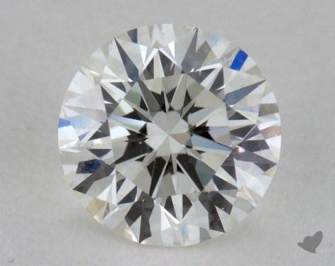 0.76 Carat H-VS1 Excellent Cut Round Diamond 