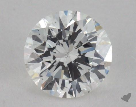 1.02 Carat F-SI2 Good Cut Round Diamond
