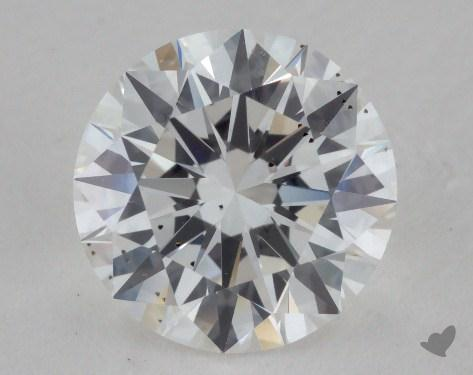 1.52 Carat F-SI1 Excellent Cut Round Diamond