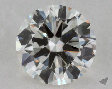 0.70 Carat H-VS2 Good Cut Round Diamond
