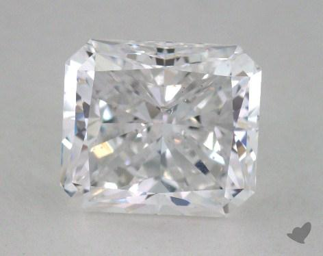 1.72 Carat D-VS2 Radiant Cut Diamond