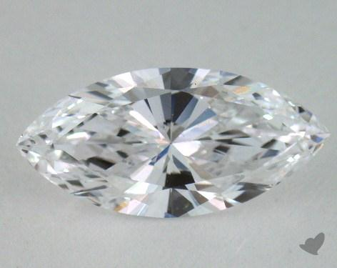 0.82 Carat D-I1 Marquise Cut Diamond