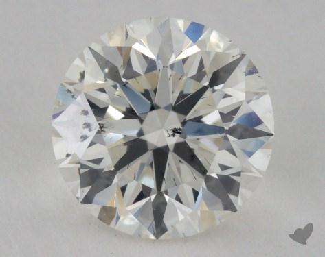 1.51 Carat I-SI2 Ideal Cut Round Diamond