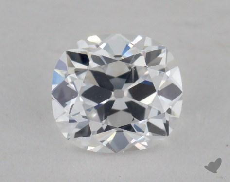 0.59 Carat D-SI1 Cushion Cut Diamond