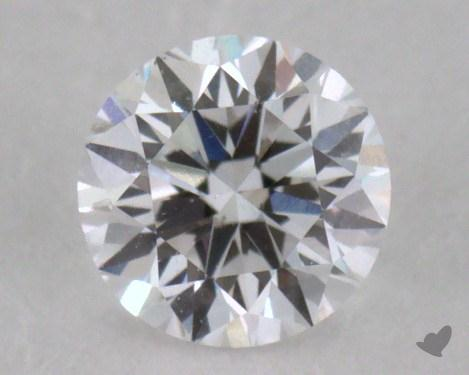 0.33 Carat D-SI2 Very Good Cut Round Diamond