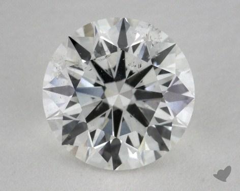 2.03 Carat F-SI2 Excellent Cut Round Diamond