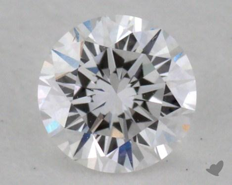 0.31 Carat D-SI1 Very Good Cut Round Diamond