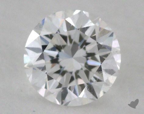 0.34 Carat E-VVS2 Good Cut Round Diamond