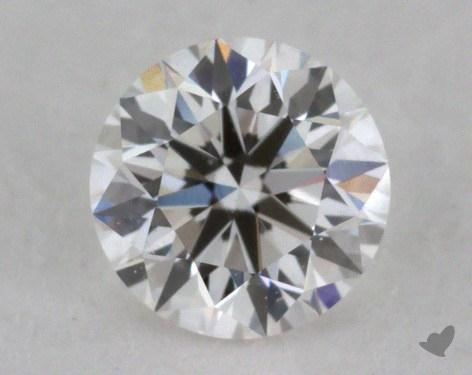 0.33 Carat E-VVS2 Very Good Cut Round Diamond