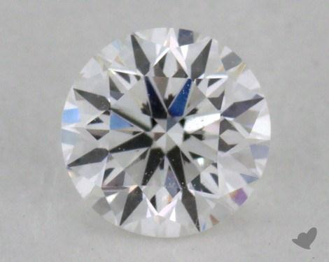 0.32 Carat E-VS2 Very Good Cut Round Diamond
