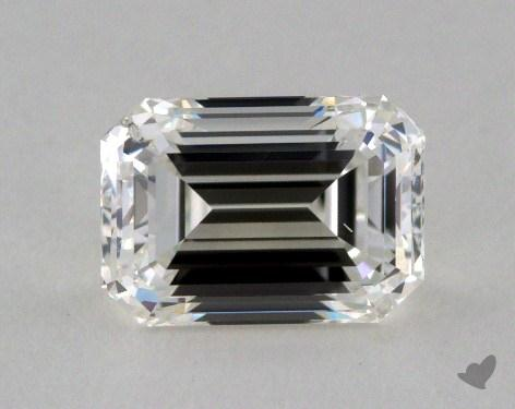 1.00 Carat H-SI2 Emerald Cut  Diamond