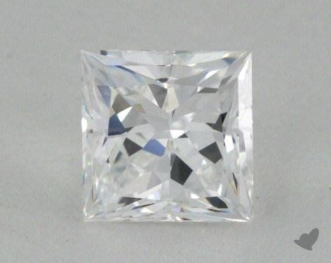 1.09 Carat D-VS1 Ideal Cut Princess Diamond
