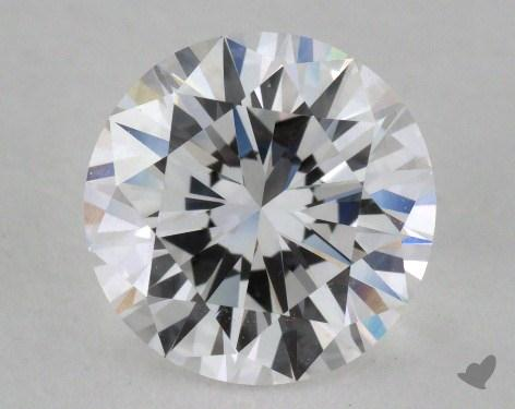 1.36 Carat D-IF Excellent Cut Round Diamond 