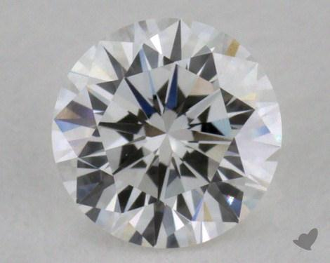0.32 Carat F-VVS1 Excellent Cut Round Diamond