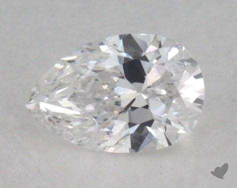 0.30 Carat D-VS1 Pear Shape Diamond